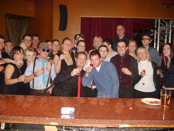Walkabout Staff Party 2006/7